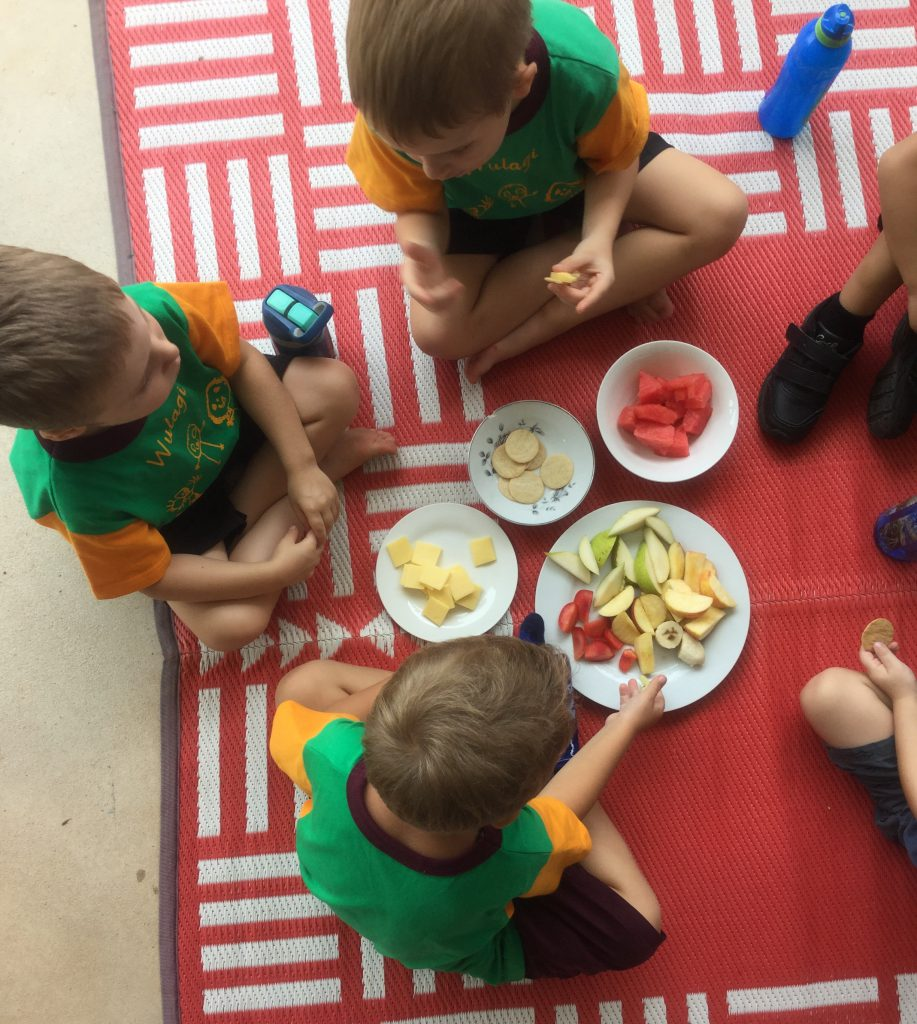 Preschool nutrition program